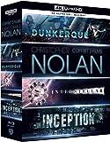 Coffret Christopher Nolan 3 Films : Dunkerque (Dunkirk) / Interstellar / Inception - Blu-Ray 4K + Blu-Ray [4K Ultra HD + Blu-ray + Digital HD]