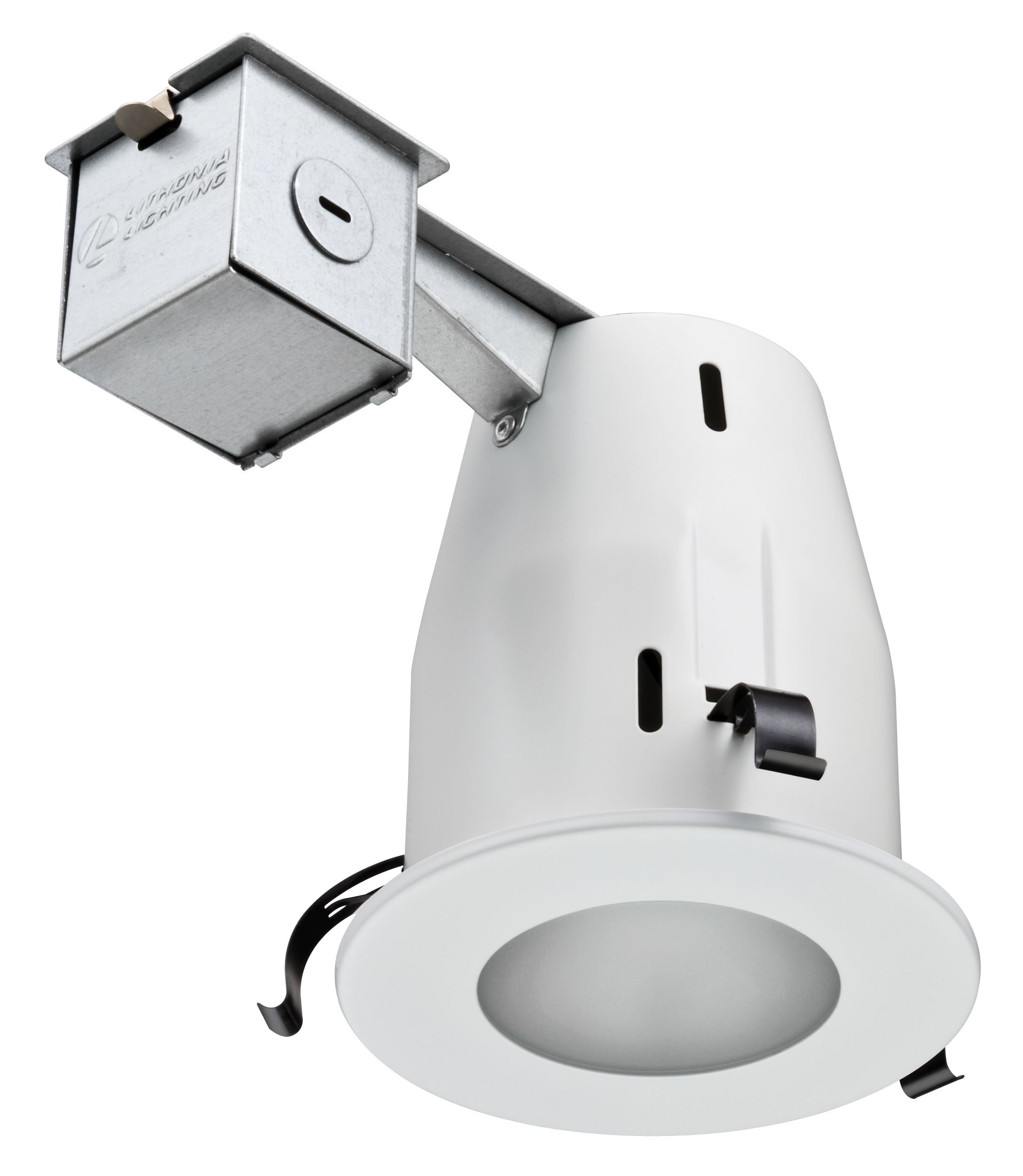 Lithonia Lighting LK4LMW M6 4 Inch Lens Kit with Halogen Lamp Included in White