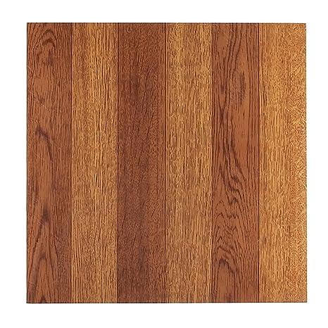 Amazon Collections Faux Medium Oak Hardwood Vinyl Floor Tile