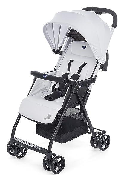 Chicco silla de paseo 4 ruedas ohlalà Plata: Amazon.es: Bebé