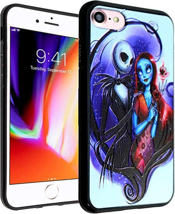 Nightmare Before Christmas 3d 2020 Amazon.com: iPhone SE 2020 TPU Case CASEVEREST 3D Print Design