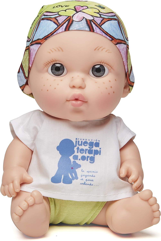 Juegaterapia Baby PELÓN Laura PAUSINI, Color Neutro (Muñecas Arias SL 180)