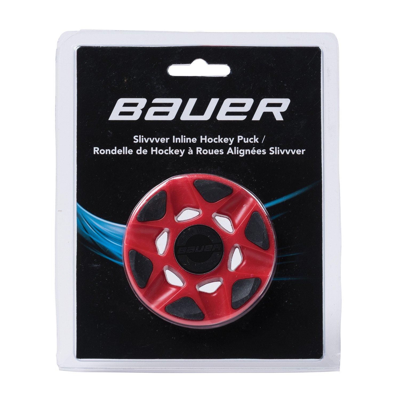 Bauer RH SLIV vver Red Lot de Puck, rouge, M BAUE6|#Bauer 1049840