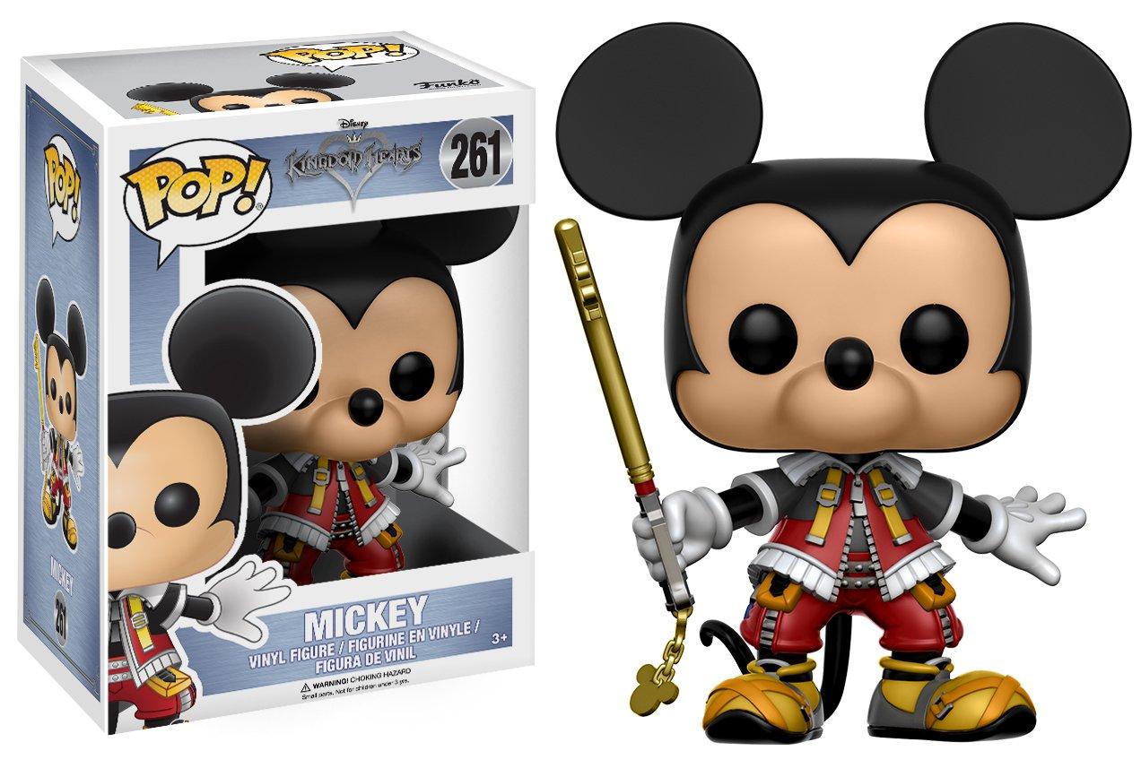 amazon com funko pop disney kingdom hearts mickey toy figures