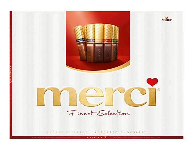 Merci Bombones de Chocolates - 6 x 675 gr