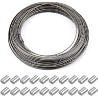 30m x 1.5mm cable de acero cuerda