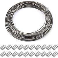 30m x 1.5mm cable de acero cuerda