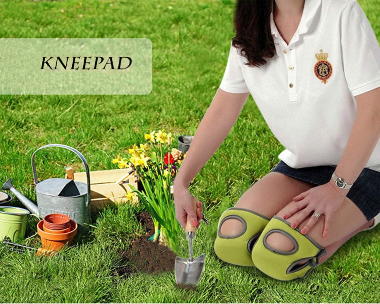 ChirRay Thicken Neoprene Knee Pads Comfort Knee Protection Caps for Scrubbing Floors Gardening Yoga Construction Outdoor Women Children