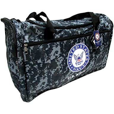21quot Military Official Licensed Product QuotUS Navyquot Camo Duffel Bag
