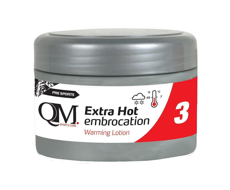 QM QM03 Crema Extra Calentadora, Unisex Adulto, Negro, 200 ML EXHOTEM