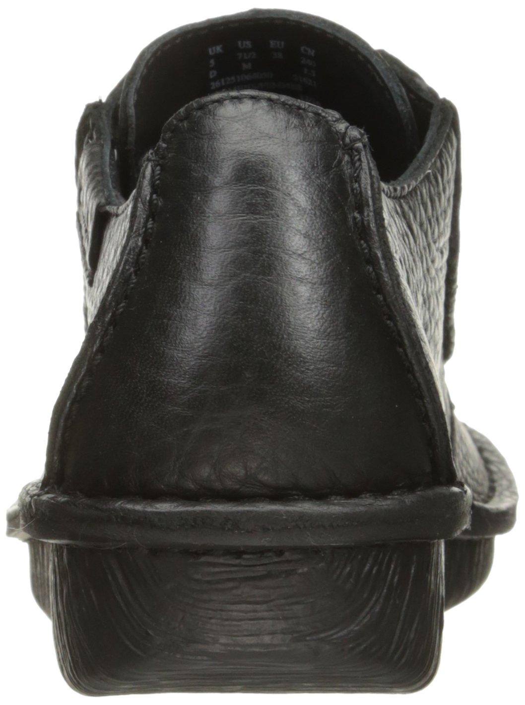 CLARKS CLARKS 19499 Vtipný ženský Oxford sen Oxford Černá kůže 7419a37 0939d581f6