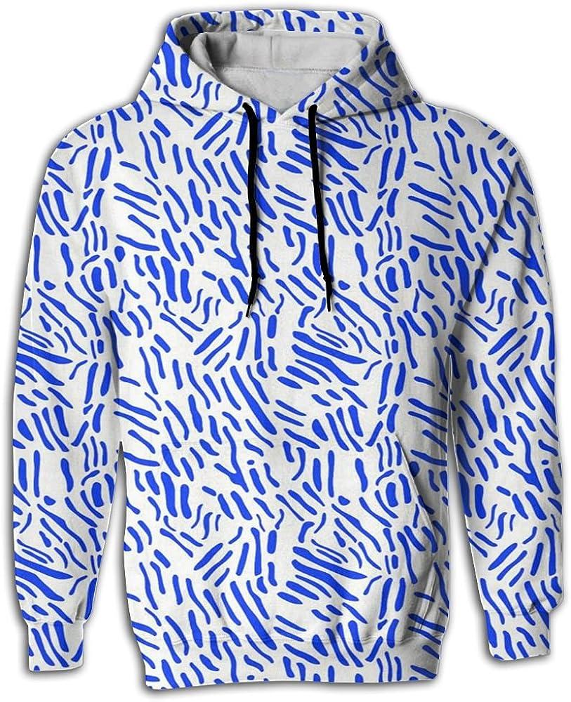 MCPWY Stripes Dots Mens Raglan Sleeve Hoodie colorful Male Raglan Hoodie
