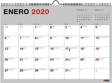 Miquelrius 28033 - Calendario de Pared A3 para escribir Gris 2020 ...