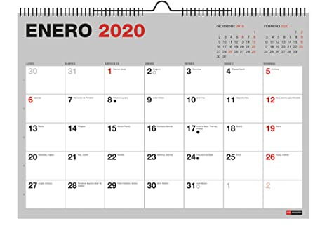 Amazon.com: Miquelrius 28036 - Calendario de pared A4 para ...