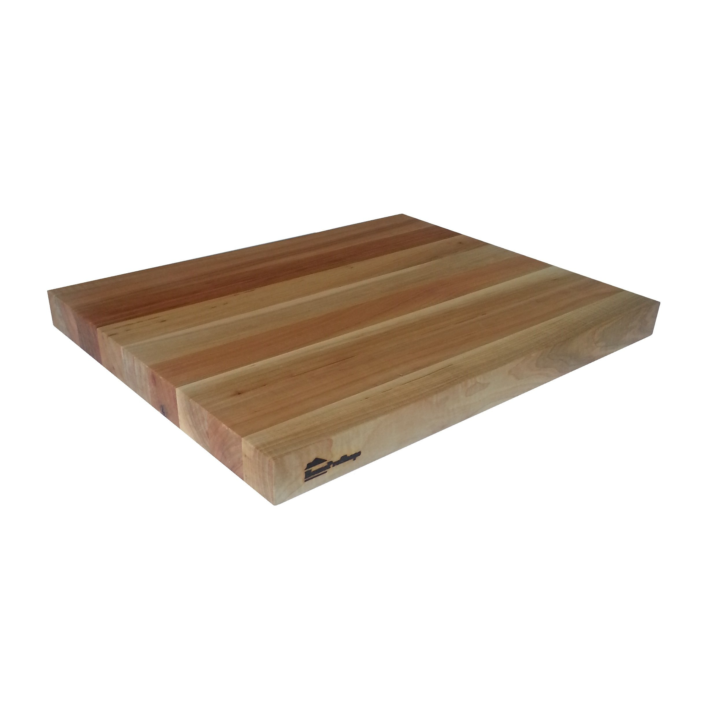 Wood Shelf Platform ONLY - 1-1/2'' x 15'' x 19 - For Revashelf RAS-ML-HDCR Heavy Duty Mixer Lift - Maple Butcher Block - Trimmable