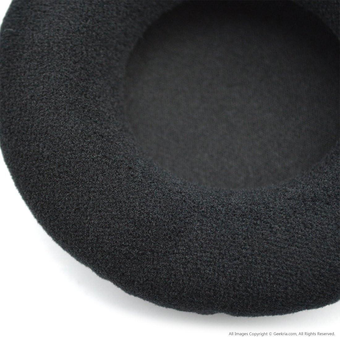 HD225 Headphones Replacement Ear Pad//Ear Cushion//Ear Cups//Ear Cover//Earpads Repair Parts Black Geekria Earpad for Sennheiser HD215