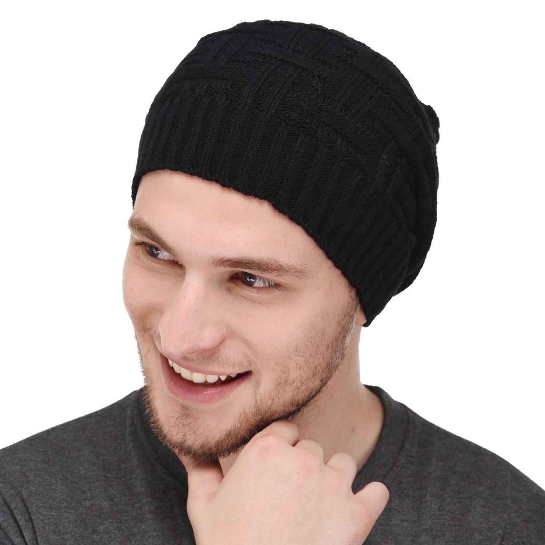 b45d86aa0bb Vr Designers Unisex Wool Beanie (Black
