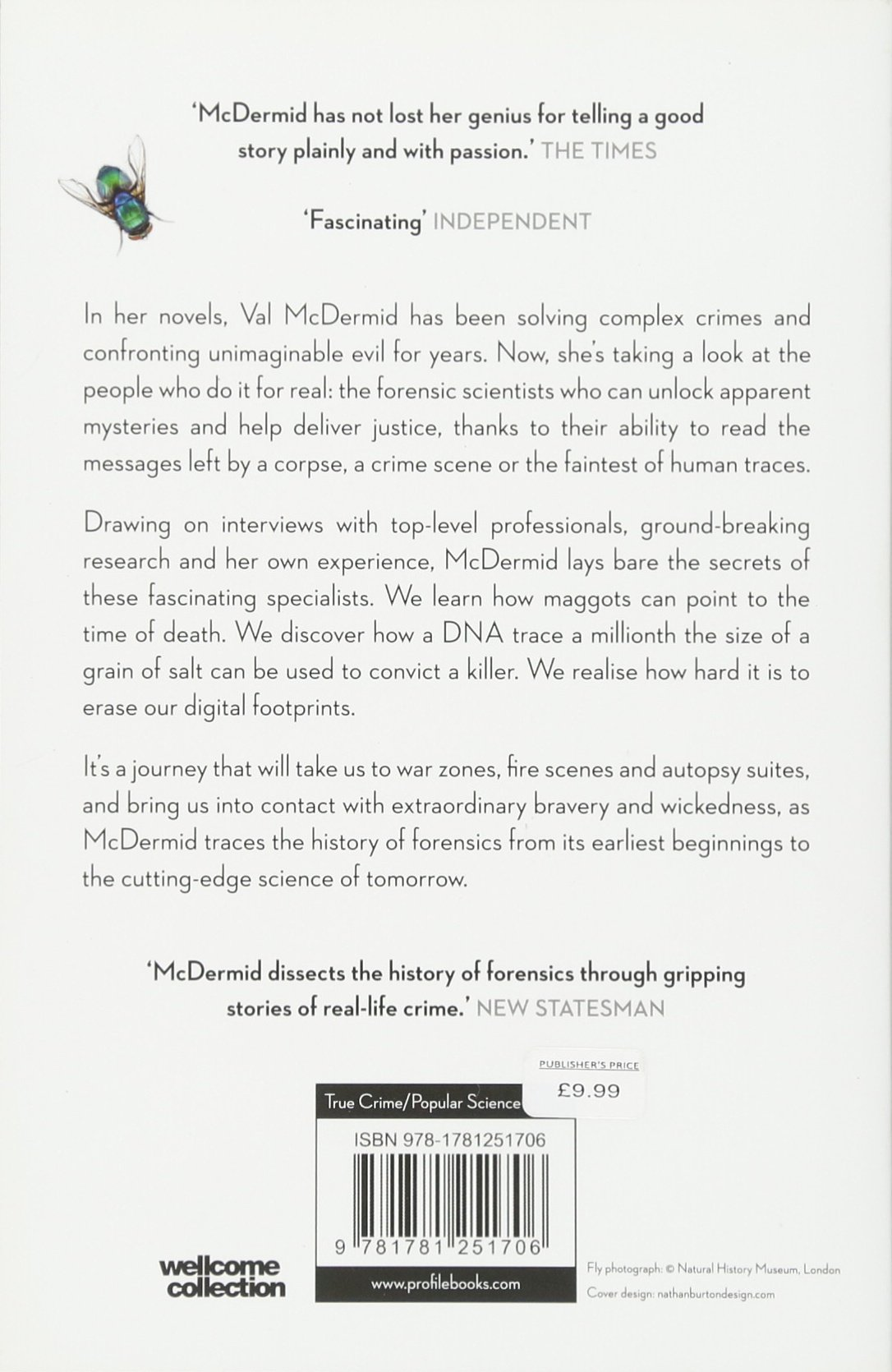 Forensics: The Anatomy of Crime (Wellcome): Amazon.de: Val McDermid ...
