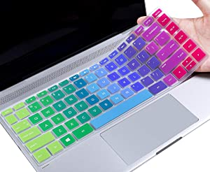 Colorful Keyboard Cover Compatible 2020 2019 2018 HP 14