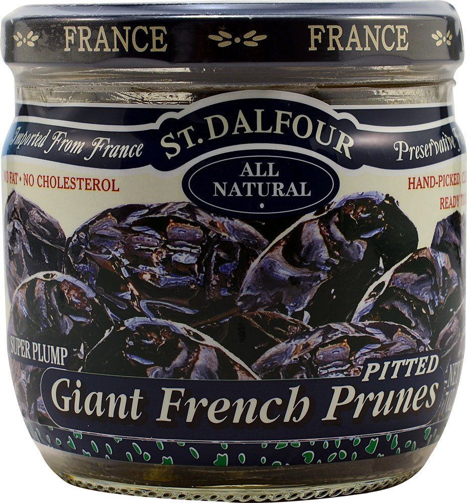 Charles Jacquin-St.Dalfour Prunes, Giant French, 7-Ounce (Pack of 6) by Charles Jacquin-St.Dalfour