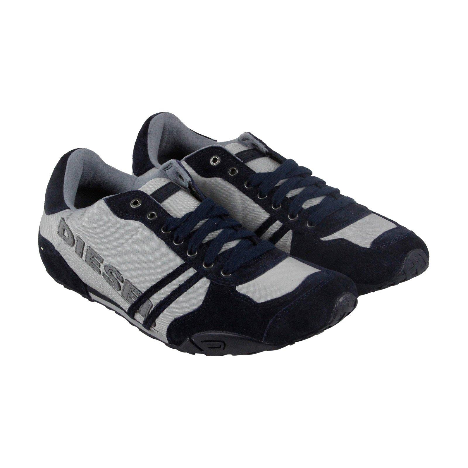 Diesel Men's Solar Fashion Sneaker, Paloma/Blue Nights, 9 M US