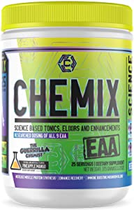 Chemix- EAAs- Essential Amino Acids, All 9 Essential Amino Acids, Clinically Dosed, Improves Recovery, Muscle Recovery, Enhanced Endurance, Energy Booster, Pineapple Mango