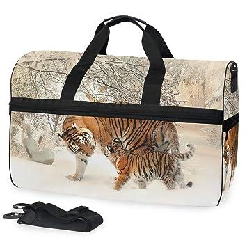 Amazon.com: AHOMY Tiger - Bolsa de gimnasio para bebé, con ...