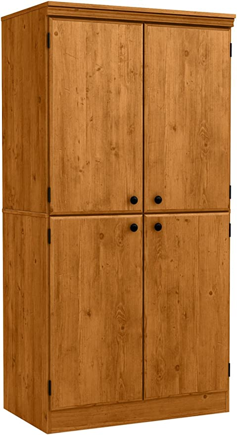 Amazon Com South Shore Tall 4 Door Storage Cabinet With