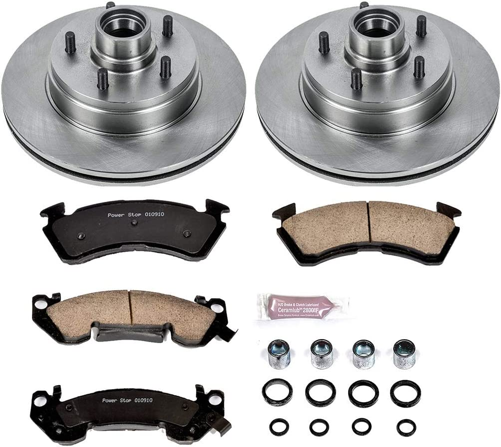 Autospecialty KOE2937 1-Click OE Replacement Brake Kit
