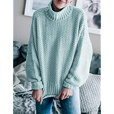 ZESICA Womens Casual V Neck Long Sleeve Slim Fit Button Ribbed Knit Sweater Blouse Tops
