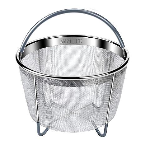 Amazon.com: Amzlife - Cesta de vapor para ollas instantáneas ...