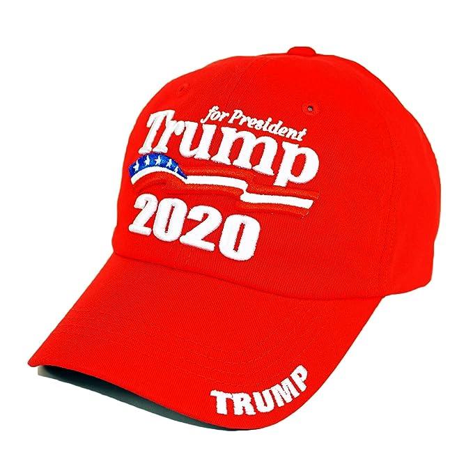 Trump 2020 Keep America Great! Premium Cotton Hat KAG MAGA Campaign  Baseball Cap (for 970aef0d2fca