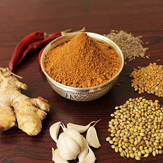 Sitara Foods - Fish Masala Powder (Home Made Andhra Style, Stone Grinded, Premium Quality)