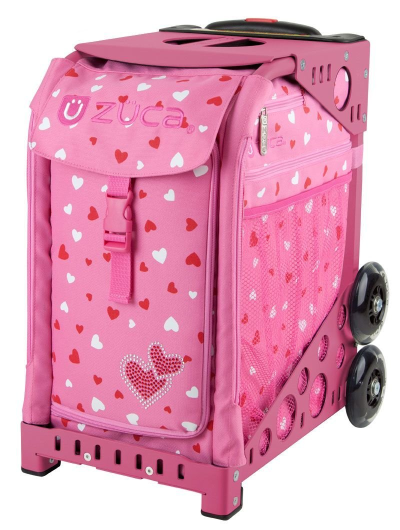 amazoncom zuca bag sweetheartz pink frame ice skating bags sports outdoors - Zuca Frame