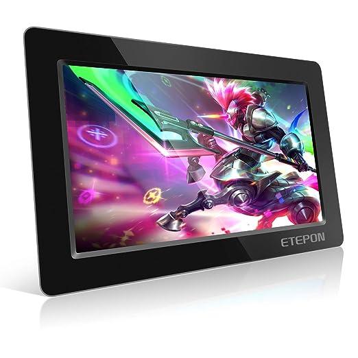 Monitor HDMI de 10.1 pulgadas, ETEPON HD Pantalla LCD 1024 * 600 con Carcasa Ultradelgada para Todo Dispositivo con HDMI Entrada, Raspberry Pi 3 2 ...