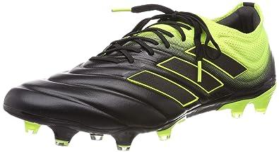 buy popular f779d c414b adidas Copa 19.1 Fg, Scarpe da Calcio Uomo, Nero Solar YellowCore Black