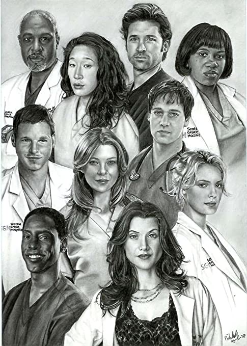 Amazon Motivation4u Greys Anatomy An American Medical Drama