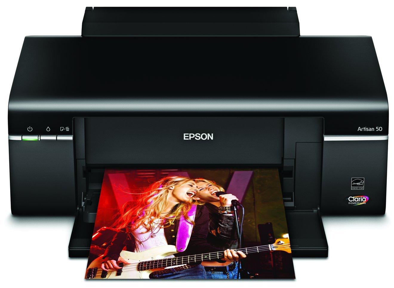 Color printing inkjet vs laser - Amazon Com Epson Artisan 50 Color Inkjet Printer C11ca45201 Electronics