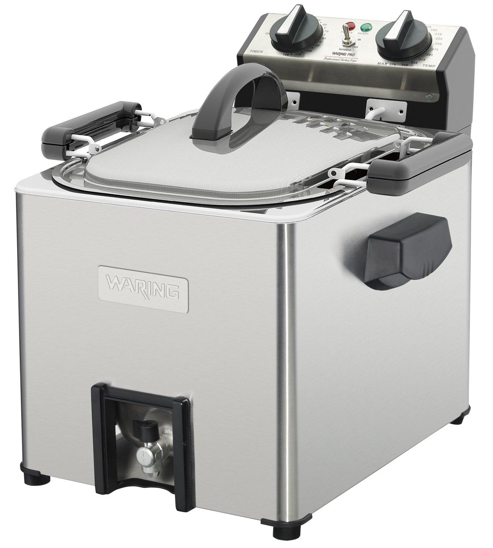 Waring Pro TF200 Professional Rotisserie Turkey Fryer/Steamer