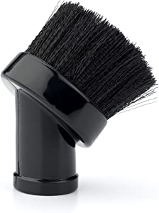 WORKSHOP Wet Dry Vacuum Accessories WS12501A Shop Vacuum Brush Attachment For 1-1/4-Inch Wet Dry Vacuum Hose