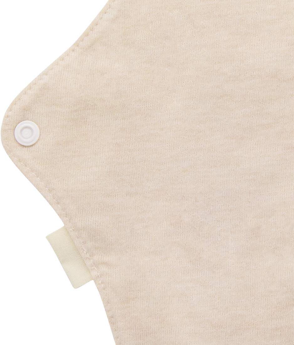 MQUPIN in cotone biologico fodera per mutandine design a prova di perdite Assorbenti igienici riutilizzabili lavabile adatto a tutte le donne da donna