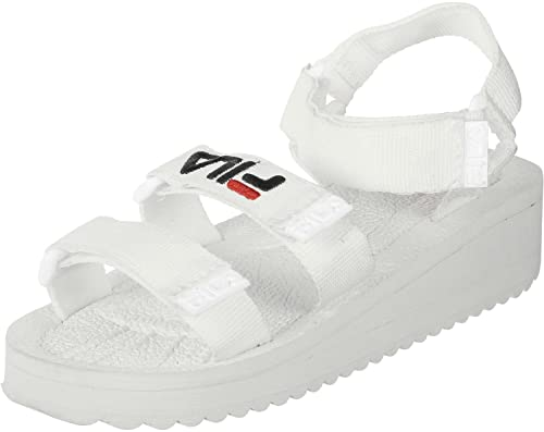 e66809e4dae Fila Women's Fashion Sandals White White: Amazon.co.uk: Shoes & Bags