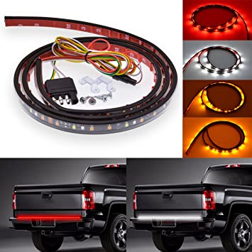 Tuincyn 60 inch led tail light strip white red amber waterproof led tuincyn 60 inch led tail light strip white red amber waterproof led light bar used for aloadofball Gallery