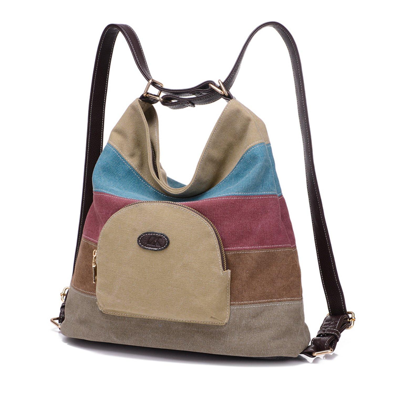 Bolsa de lona de las mujeres   bolsos de hombro   Mochila product image 008f7fbf9686