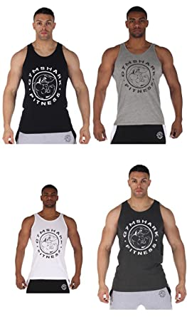 c2d45470101c4 Bodybuilding!fashion Gymshark Sleeveless Shirts Tank Top Sexy Comfortable  Gym Fitness Mens Singlet Sport Breathable