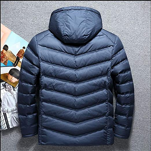 MAZF Winter Down Jacket Short Parkas Hombre Invierno Chaqueta Plumas Hombre Feather Jacket at Amazon Mens Clothing store: