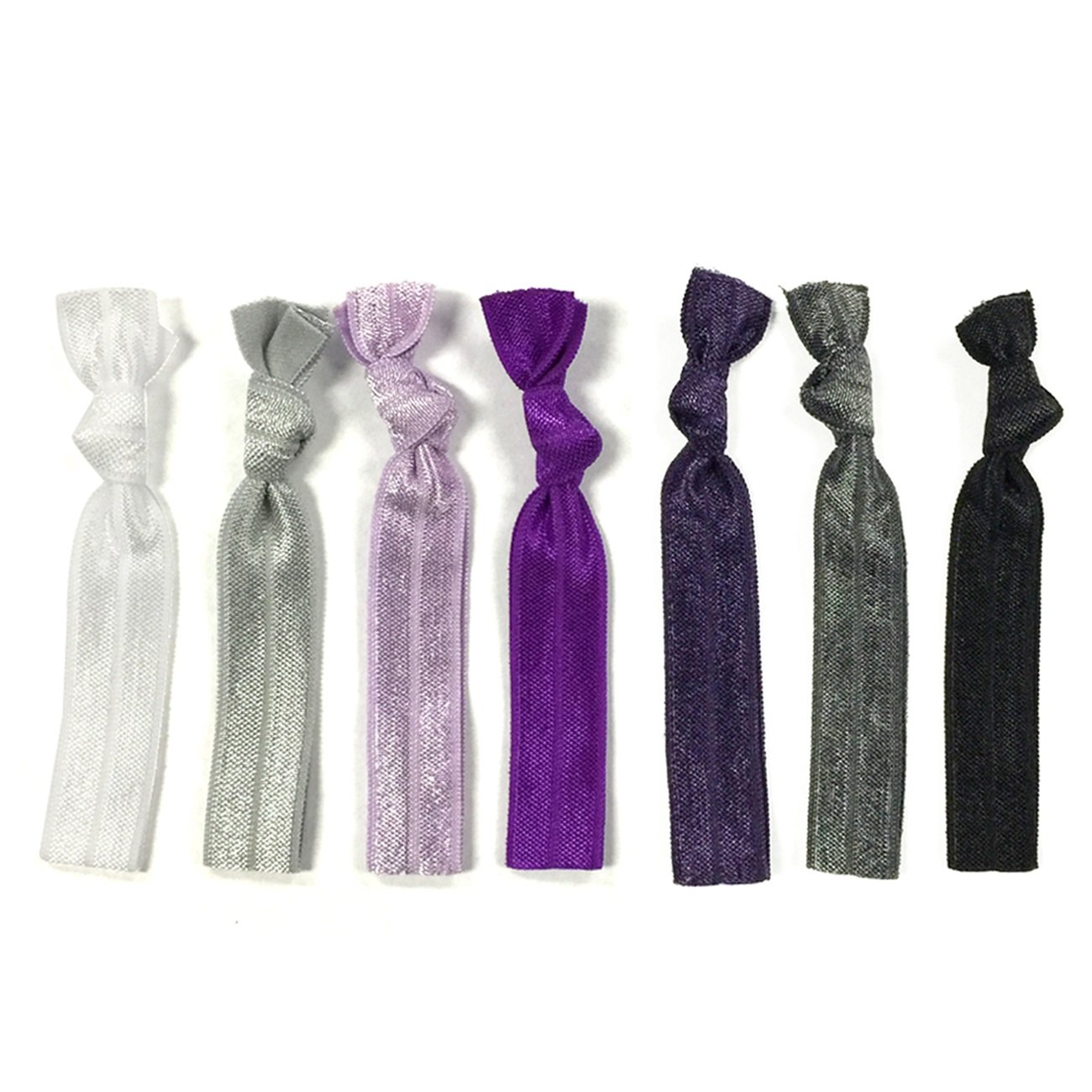 Amazon.com  Wrapables Assorted Ribbon Hair Ties Ponytail Holders ... cbc3e8a36cb