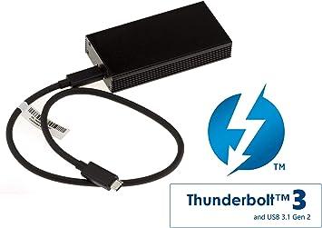 KALEA-INFORMATIQUE. Caja Externa Thunderbolt 3 40G C. Compatible M ...