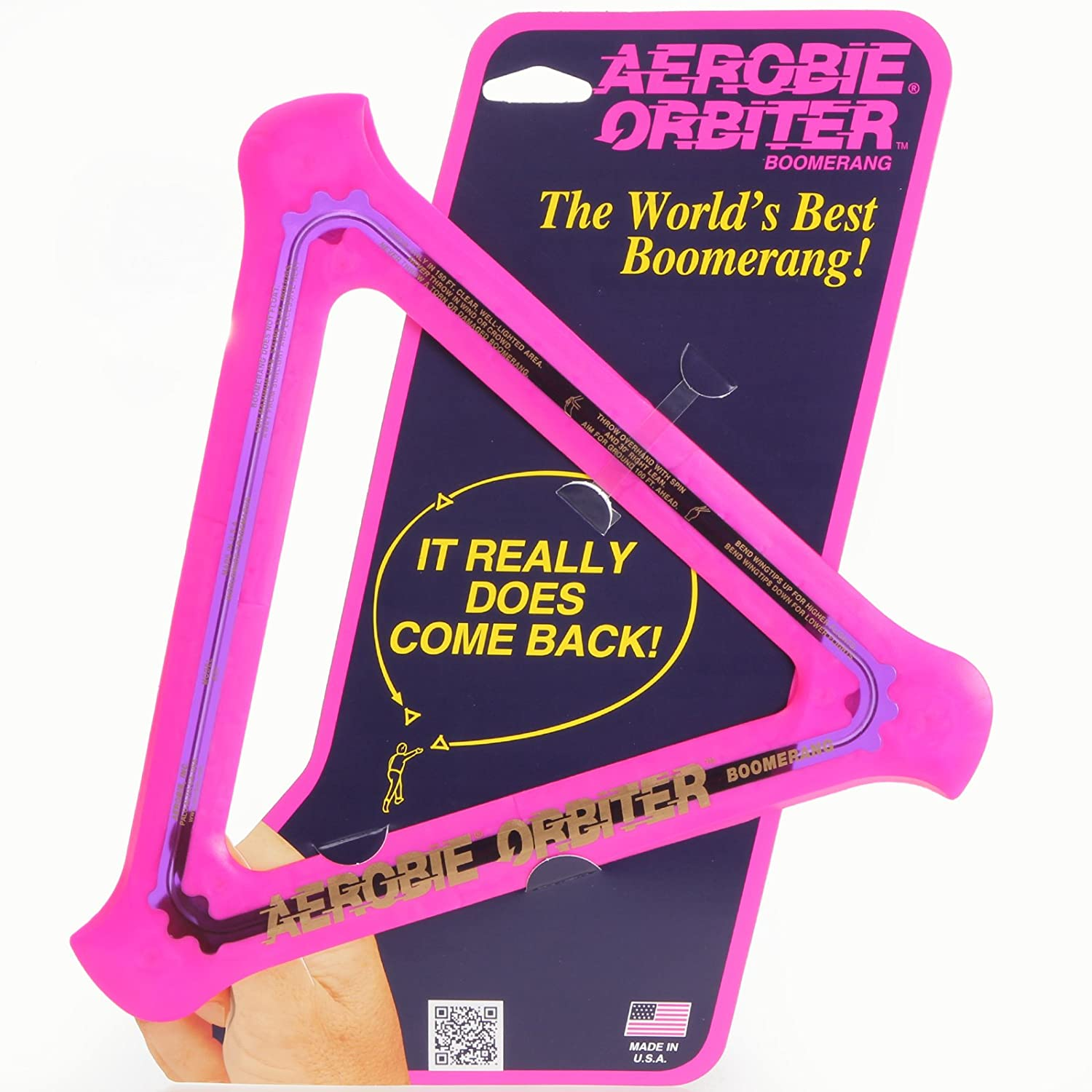 Aerobie Orbitor Boomerang The Worlds Best Boomerang (It Really Does Come Back)