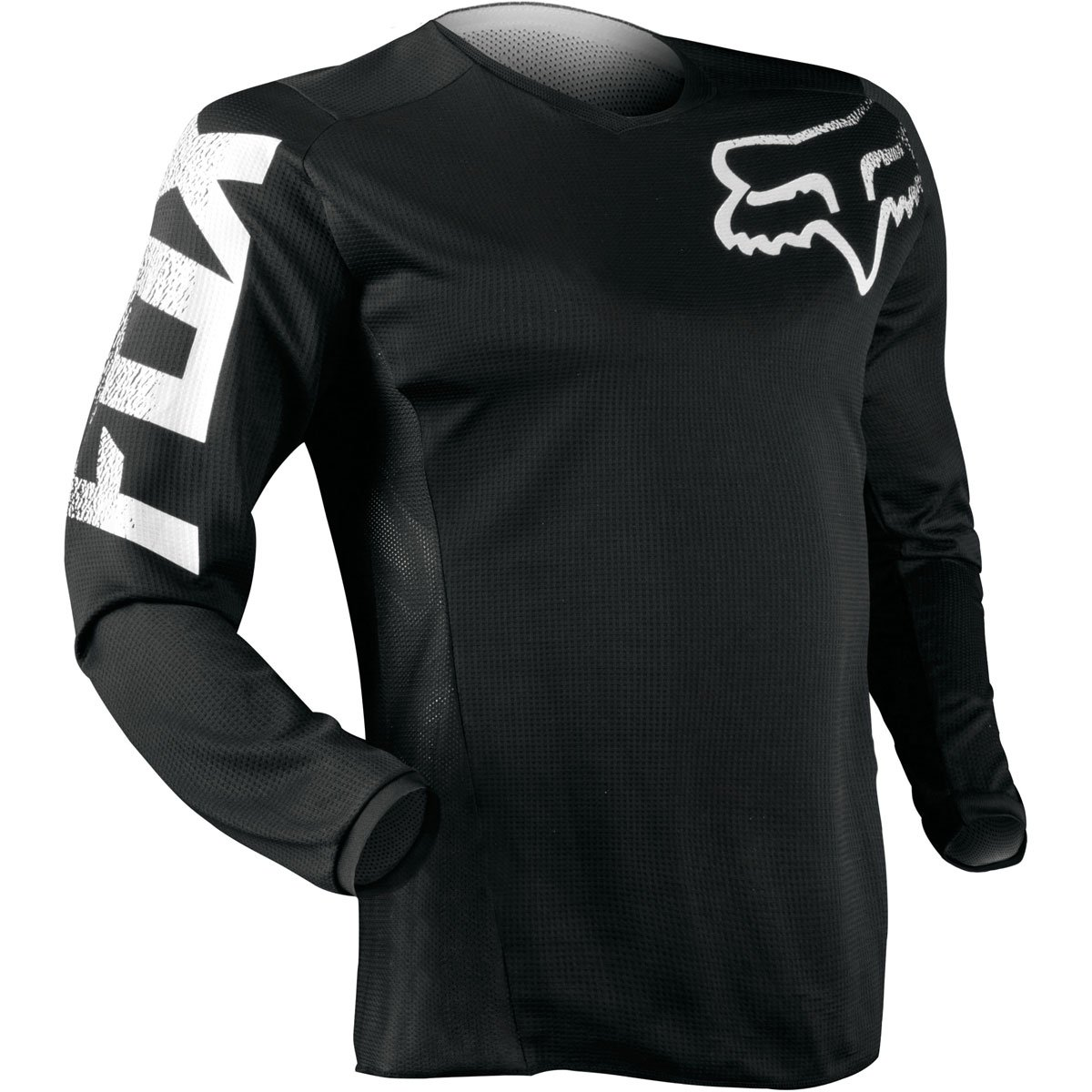 Fox Racing 2019 Youth Blackout Jersey (SMALL) (BLACK) by Fox Racing (Image #3)